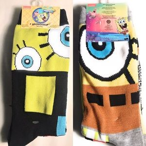 🌟Nickelodeon Spongebob Socks size 6-12